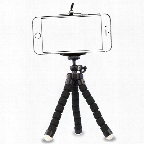 Phone Tripod Ubeesize Portable And Adjustable Camera Stand Holder With Bluetooth Remote And Universal Clip For Iphone