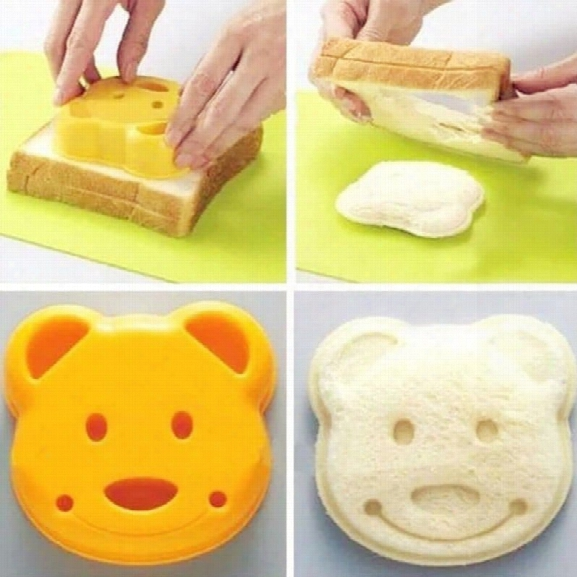 Sandwich Made With Bread Mold Mold Diy Cartoon Making Cookies With New Breakfast Toast Bread Mold (size: 9.7cm * 3cm 9.2