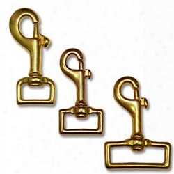 Solid Brass Bolt Snaps
