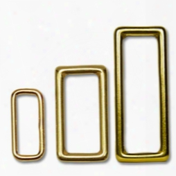Solid Brass Loops