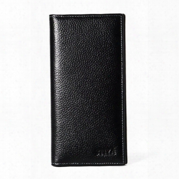 Stiyaã'âlong Bifold Wallet For Men Soft Genuine Leather Checkbook Holder Organizerã'âwithã'âlargeã'âcapacity