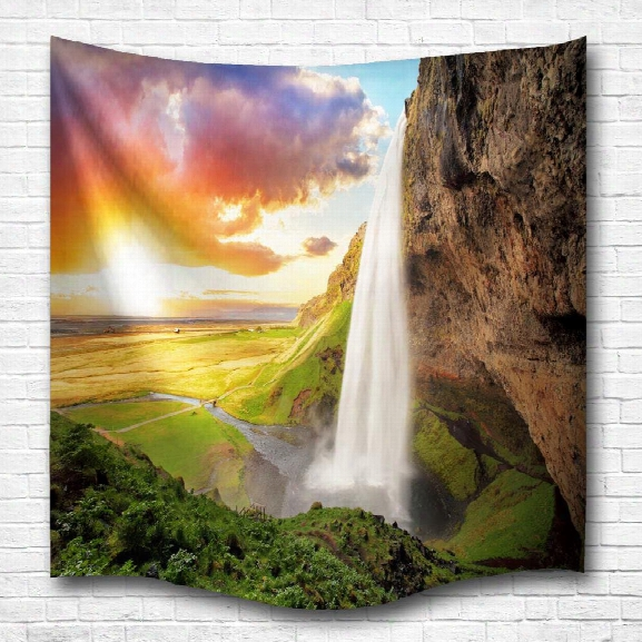 Sunshine Falls3d Digital Printing Home Wall Hanging Nature Art Texture Tapestry For Bedroom Living Chance Decorations