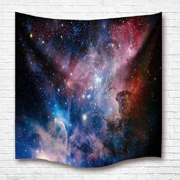 The Stars 3d Digital Printing Home Wall Hanging Nature Art Fabric Tapestry For Dorm Bedroom Living Room Decorations