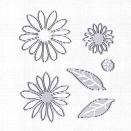 6pcs Flowers metal die cutting dies in scrapbooking die cuts For DIY Scrapbooking Photo Album Decorative Embossing Folde