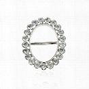 New Fashion Stewardess Scarf Buckle Brooch Metal Crystal Rhinestone Gold Sliver Plated Pins Hijab Clip Scarf Jewelry For
