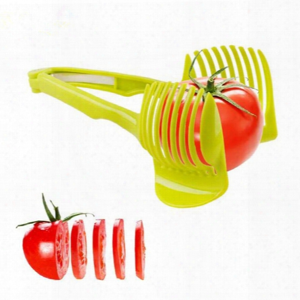 Tomato Slicer Fruits Cutter Stand Tomato Lemon Cutter Utensilios De Cozinha Assistant Lounged Shreadders Slicer