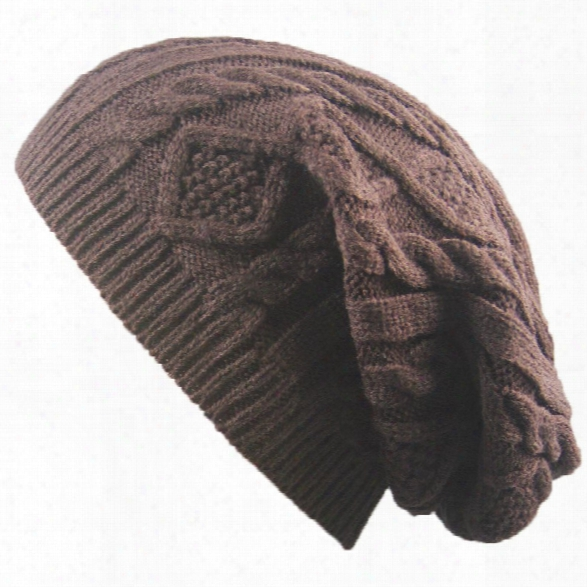 Winter Cap Small Twist Knitted Hats Europe And The United States Outdoor Men And Women Leisure Sets Of Wool Hat