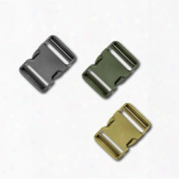 2 Inch Colored Double Adjust Side Release Buckles, Standard