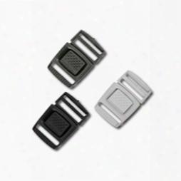3/4 Inch Colored Single Adjust Center Release Buckles, Standard