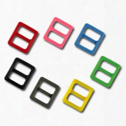 3/8 Inch Colored Plastic Slides