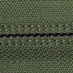 #456: 1 Inch Olive Drab Industrial Zipper