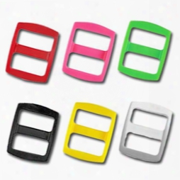 5/8 Inch Colored Plastic Slides