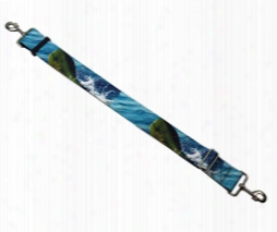 #613a: 1 1/2 Inch Mahi Mahi Camera/bag Strap 4 Feet Long