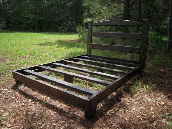 American Made Heavy Duty All Wood Queen Bed