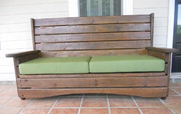 American Made Heavy Duty Outdoor Sofa