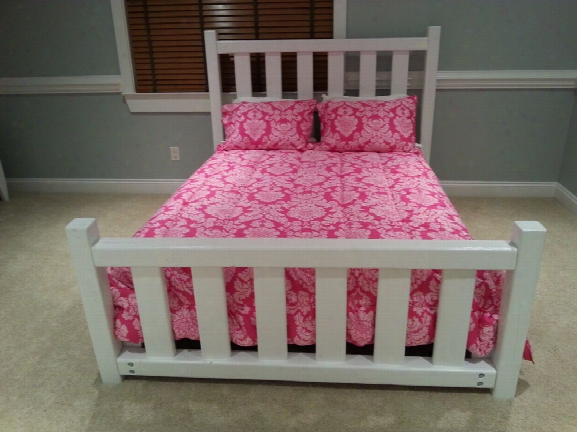 American Made Queen Post Bed