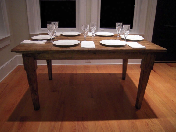 American Made Rustic Dining Table 60 X 40