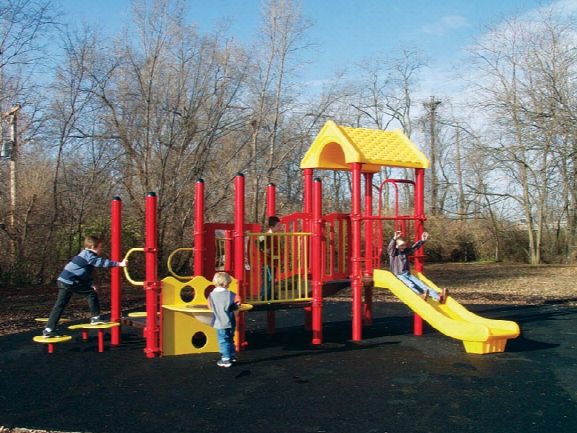 Amy Modular Playground 3.5 Inch Posts