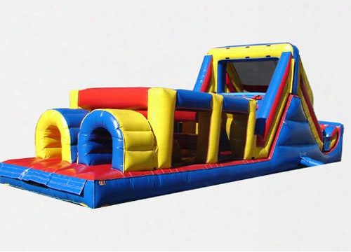 Backyard Obstacle Challenge Commercial Bounce House