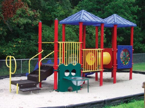 Bobbie Modular Playground 3.5 Inch Posts