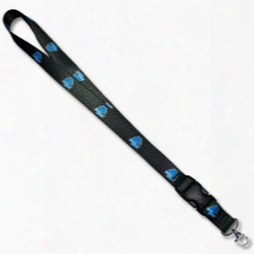 Boise State: Patterned Satin Ribbon Lanyard