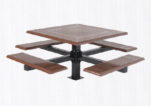Cantilever Picnic Table - Beveled Edge