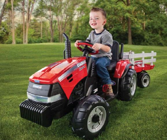 Case Ih Magnum Tractor With Trailer 12 Volt Vehicle