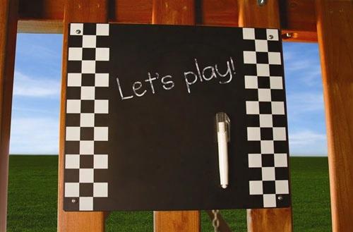Chalkboard Swing Set Accessory