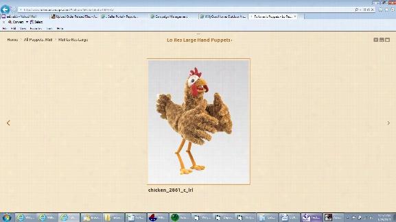 Chicken Puppet