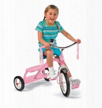 Classic Pink Dual Deck Tricycle 12