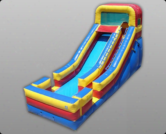 Commerciap Grade 18 Foot Inflatable Slide