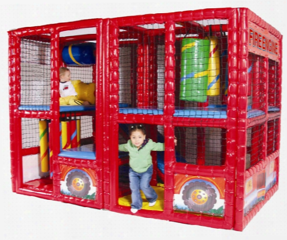 Fire Engine Indoor Contained Play System
