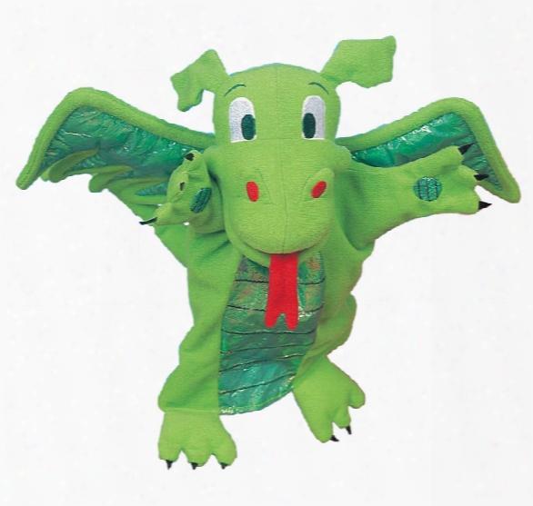 Green Dragon Telltale Puppet