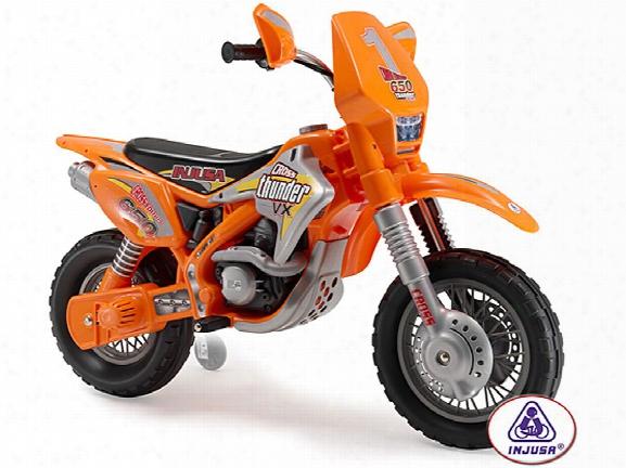 Injusa Motocross Htunder Max Vx 12 Volt Ride On
