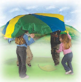 Institutional Parachute 20 Foot - With Handles