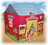 Little Red Schoolhouse Play Tent