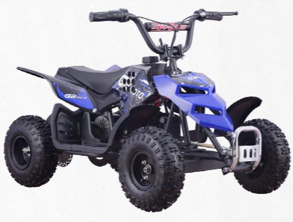 Mototec 24 Volt 250w Atv Mini Monster Blue Ride On