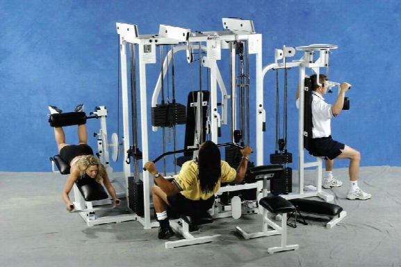 Multi Gym 5-stack Fitness Machine With Butterfly