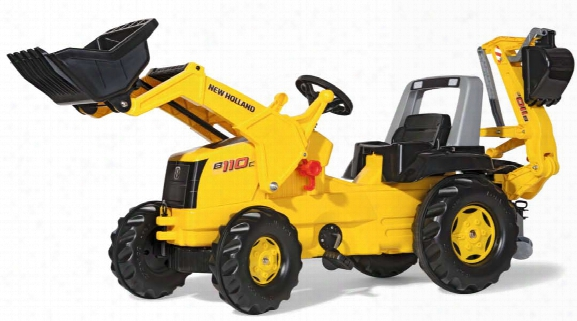 New Holland Backhoe Loader Pedal Tractor