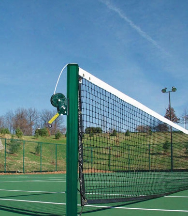 Official Tennis Post - Set Of 2 Galvanized