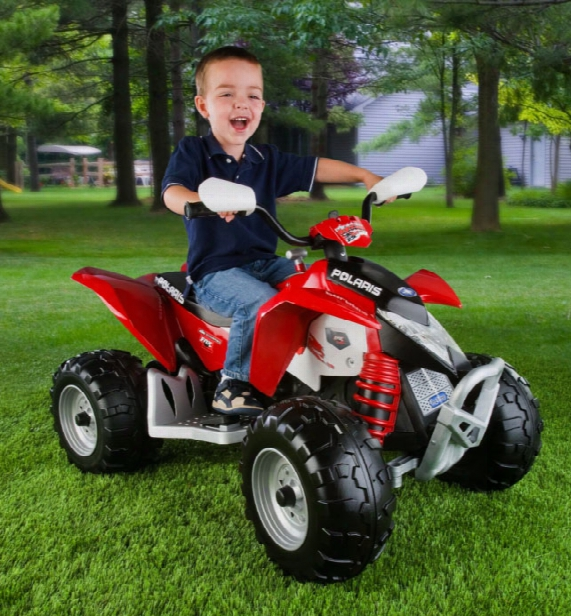 Polaris Outlaw 12 Volt Vehicle - Red