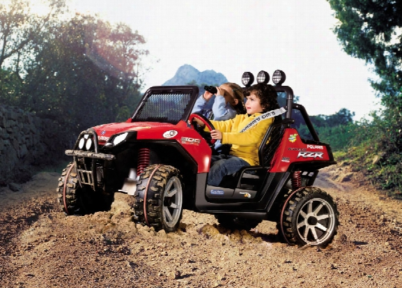 Polaris Ranger Rzr Red 24 Volt Vehicle