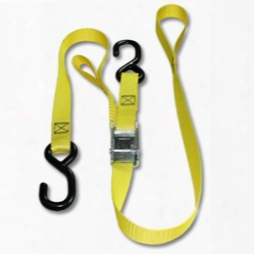 """Reverse Soft Tie Motorcycle Cam Strap With 1"""" Polyester Webbing"""