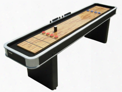 Rhinoplay 9 Foot Platinum Shuffleboard Table