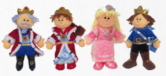 Royalty Telltale Puppet Set - Includes 4 Puppets