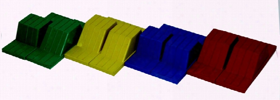 Rubber Track And Field Starting Blocks Four Pair