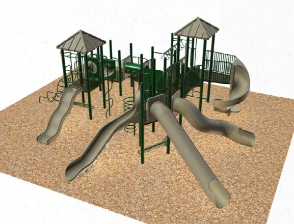 Sportsplay 4590 Playground System - 5 Inch Posts