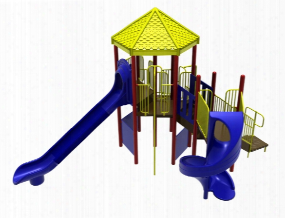 Sportsplay 5278 Playground System Climber With 7f Oot Slide