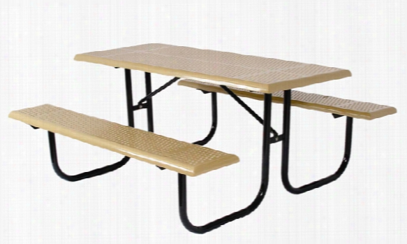 Standard Rectangular Picnic Table 6 Foot Long