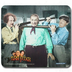 The Three Stooges Mouse Pads